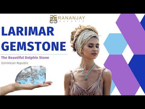 Larimar Gemstone: The Beautiful Dolphin Stone | Know About Larimar Stone -Rananjay Exports