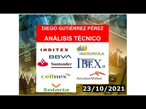 Análisis de los Blue Chips del IBEX 35 (23/10/2021).