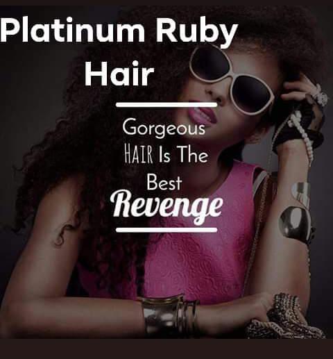 Platinum Ruby Hair Promo