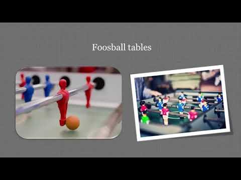 Maintaining A Foosball Table