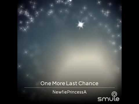 One more last chance