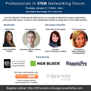 Professionals in STEM Networking Forum