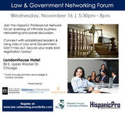 2016 Law and Government Networking Forum