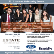 2017 Summer Networking Soiree