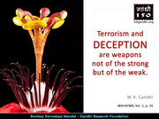 Thought For The Day ( DECEPTION )