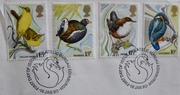 First issue stamps 1980