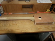 On the Bench. 4 String Old Skool build