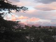 Silver Lake Sunset Mount Baldy
