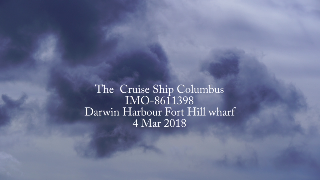 MV Colombus Darwin Australia