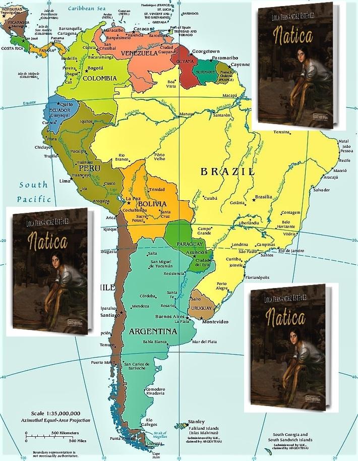 Natica llega a América latina
