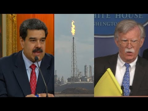A War for Oil? Bolton Pushes Privatization of Venezuela's Oil as U.S. Ratchets Up Pressure on Maduro