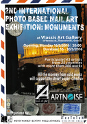 "2nd International Photo based Mail Art Exhibition ""Monuments"""